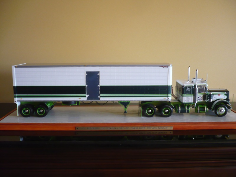 PETERBILT 359(CALIFONIA HAULER)/DRY BOX 40'-COMBO- '' les seventies''  03410