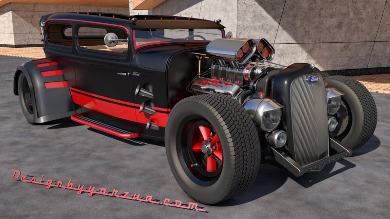 Carro pro-line hot rod 1/8 - Page 2 Ford_c11