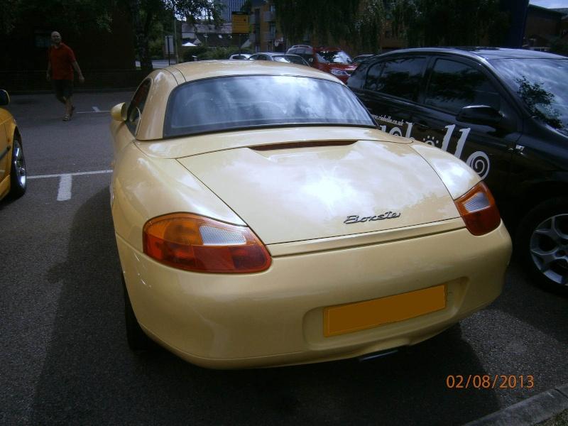 Porsche Boxster 986 2,5L calant à chaud au point mort Boxste11