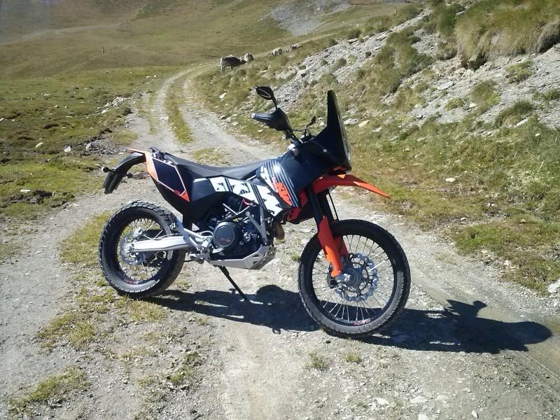 Mon KTM 6.90 Adventurisée... Cam00615