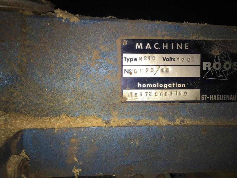 scie radial dewalt arm saws type M210 Oliv_013