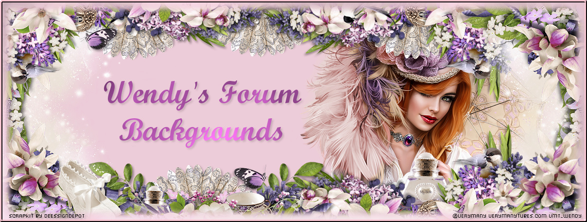 Wendy's Forum Backgrounds