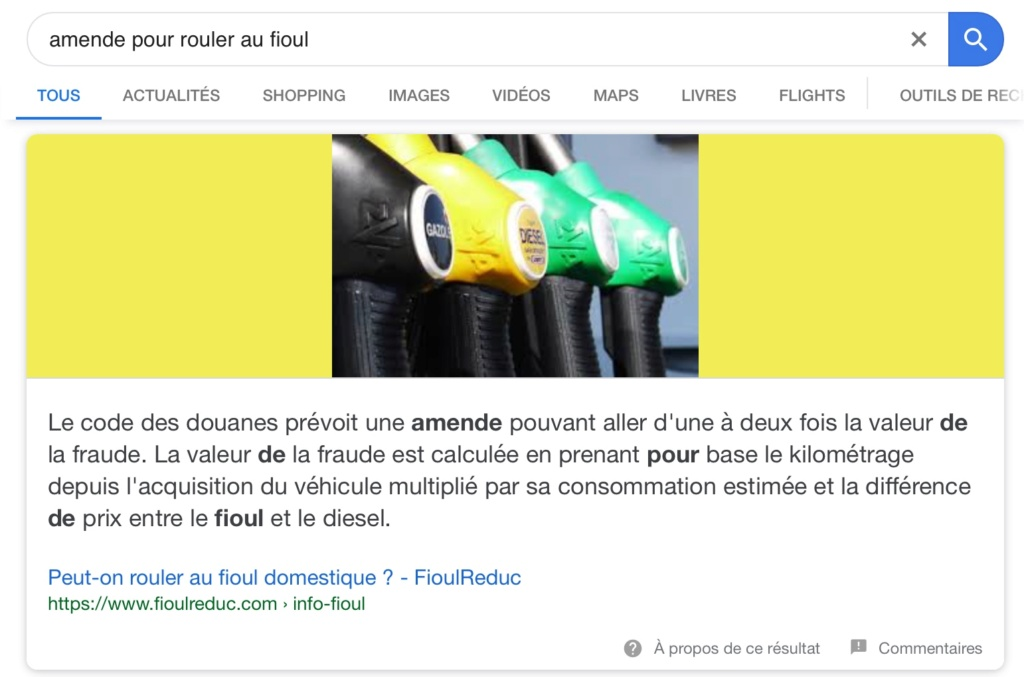 difference fioul versus gasoil  05542410