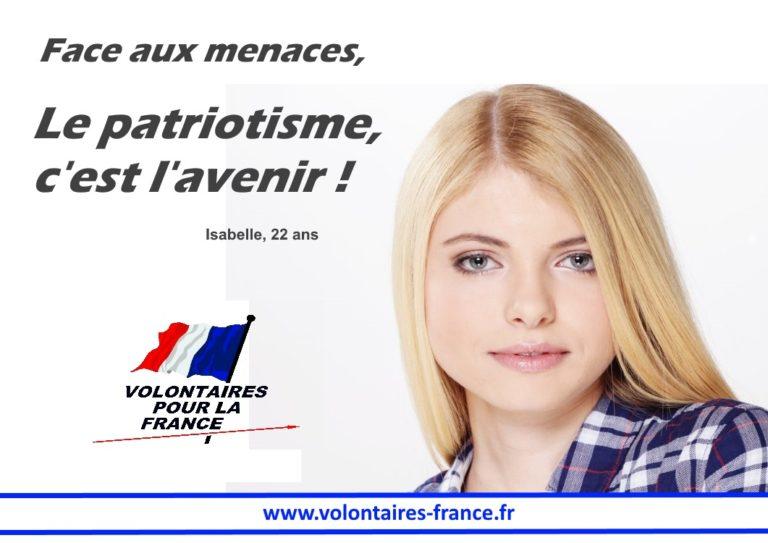 Le patriotisme ! C'est l' avenir de la  France ... 4bis-710