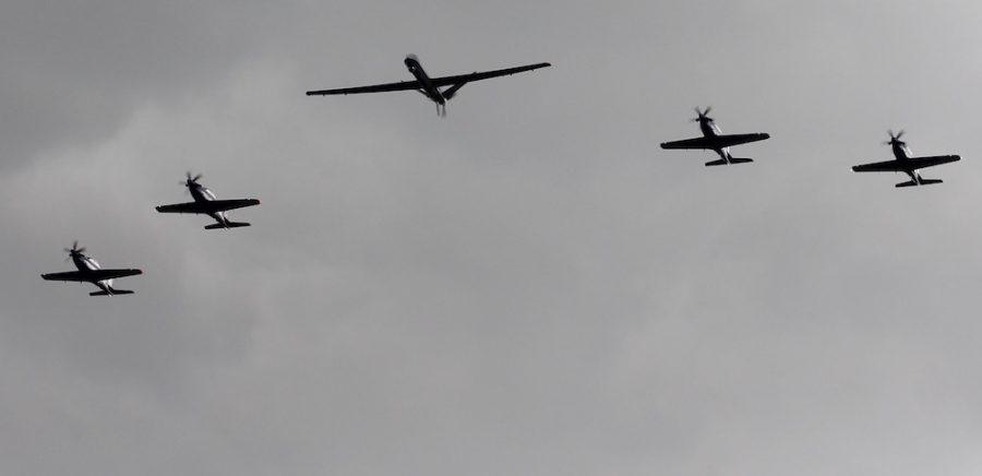 L' armée de l'air et la 33 reconstituée sur la base de Cognac. Cognac10