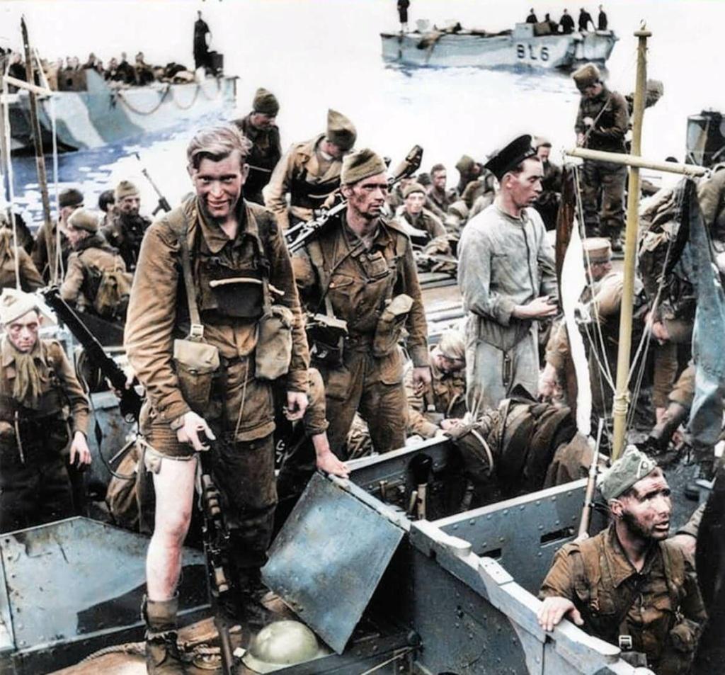 Opération. Jubilee - deux divisions Canadiennes a l'assaut de Dieppe  Dieppe12