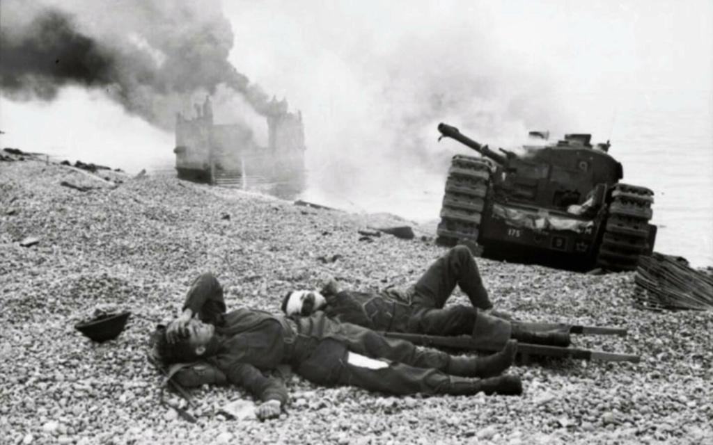 Opération. Jubilee - deux divisions Canadiennes a l'assaut de Dieppe  Dieppe13