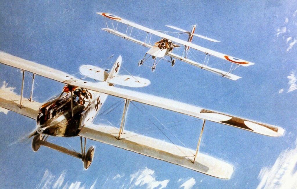 Le 05 Octobre 1914  : Le premier de tous les combats aériens -Histoire  Frantz10