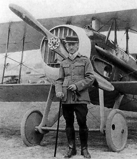 Un pilote Russe en 14-18 dans  les forces d'aviation Françaises Pavel-10