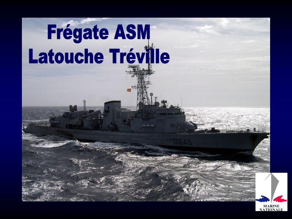 La Fregate Latouche -Treville vit ses dernières annees -avantt u désarmement . Servei37