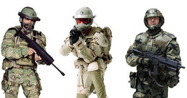 Etude d'une armure de combat pour les forces spetiales anericaines   Talos-10