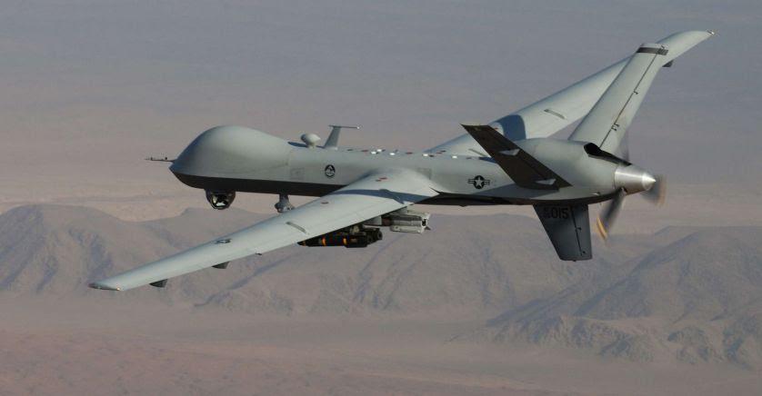 Au  sahel - Les drones Reaper americains en service. Unname24