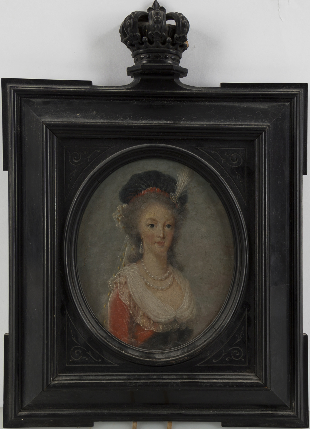 Marie-Antoinette au livre en robe bleue - Page 3 17062111