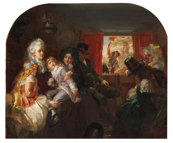 A vendre: tableaux Marie-Antoinette, Versailles et XVIIIe siècle - Page 3 Sans_t10