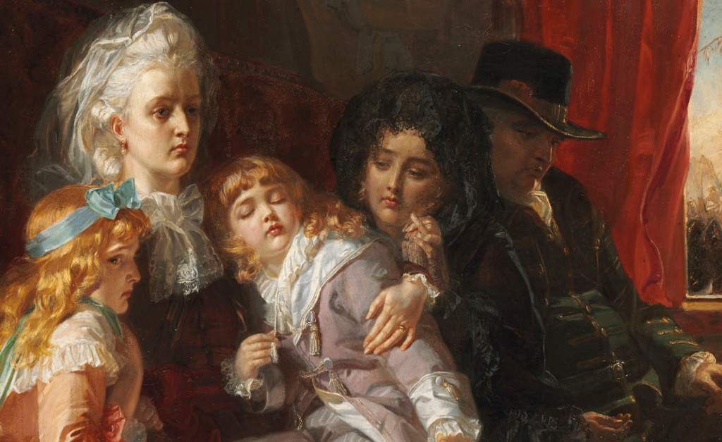 A vendre: tableaux Marie-Antoinette, Versailles et XVIIIe siècle - Page 3 Sans_t12