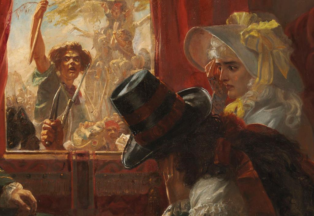 A vendre: tableaux Marie-Antoinette, Versailles et XVIIIe siècle - Page 3 Sans_t13