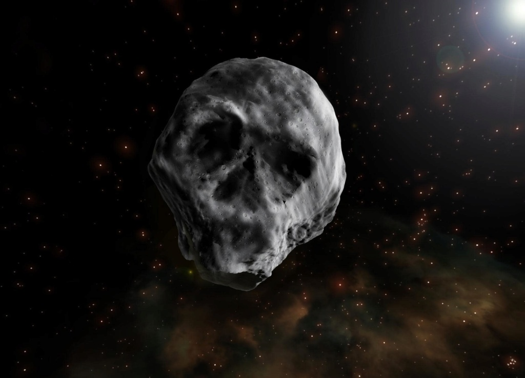 Un astéroïde en forme de tête de mort va frôler la Terre El-ast10