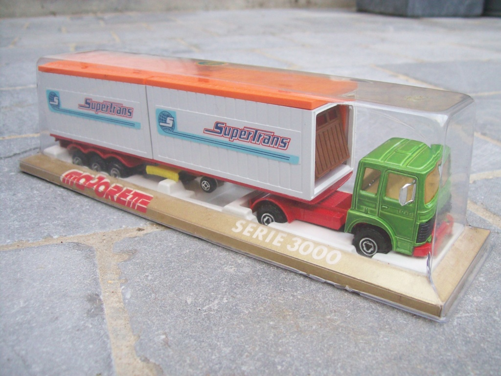 """N°3062 RENAULT SAVIEM PS30 2x20"""" DOUBLE CONTAINER  126_3715"""