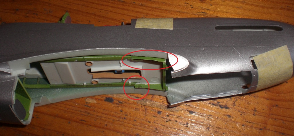 die P 51 MUSTANG, 1/32, revell, von oluengen359 Cimg6825