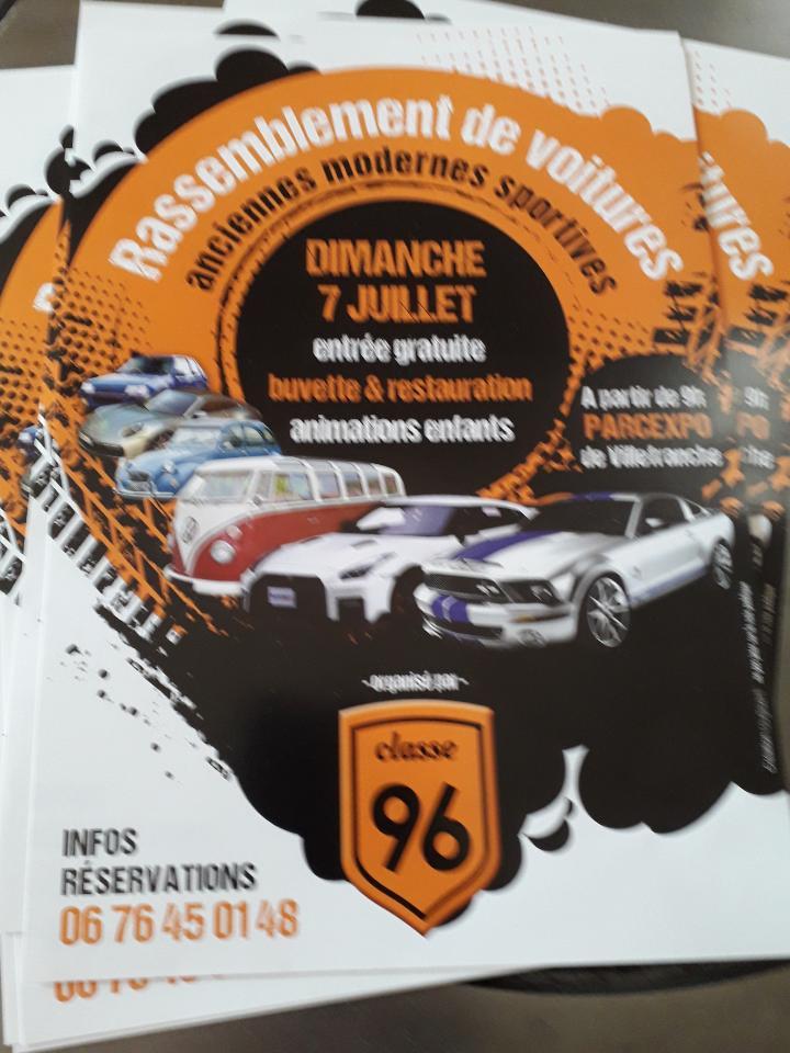 rassemblement automobile le 07 juillet 2019 Villefranche sur saone 69 Rasso_10