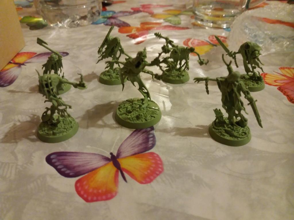 Peinture -  Les débuts de peinture de Nihilus sur Warhammer Underworlds Shadespire  49344211