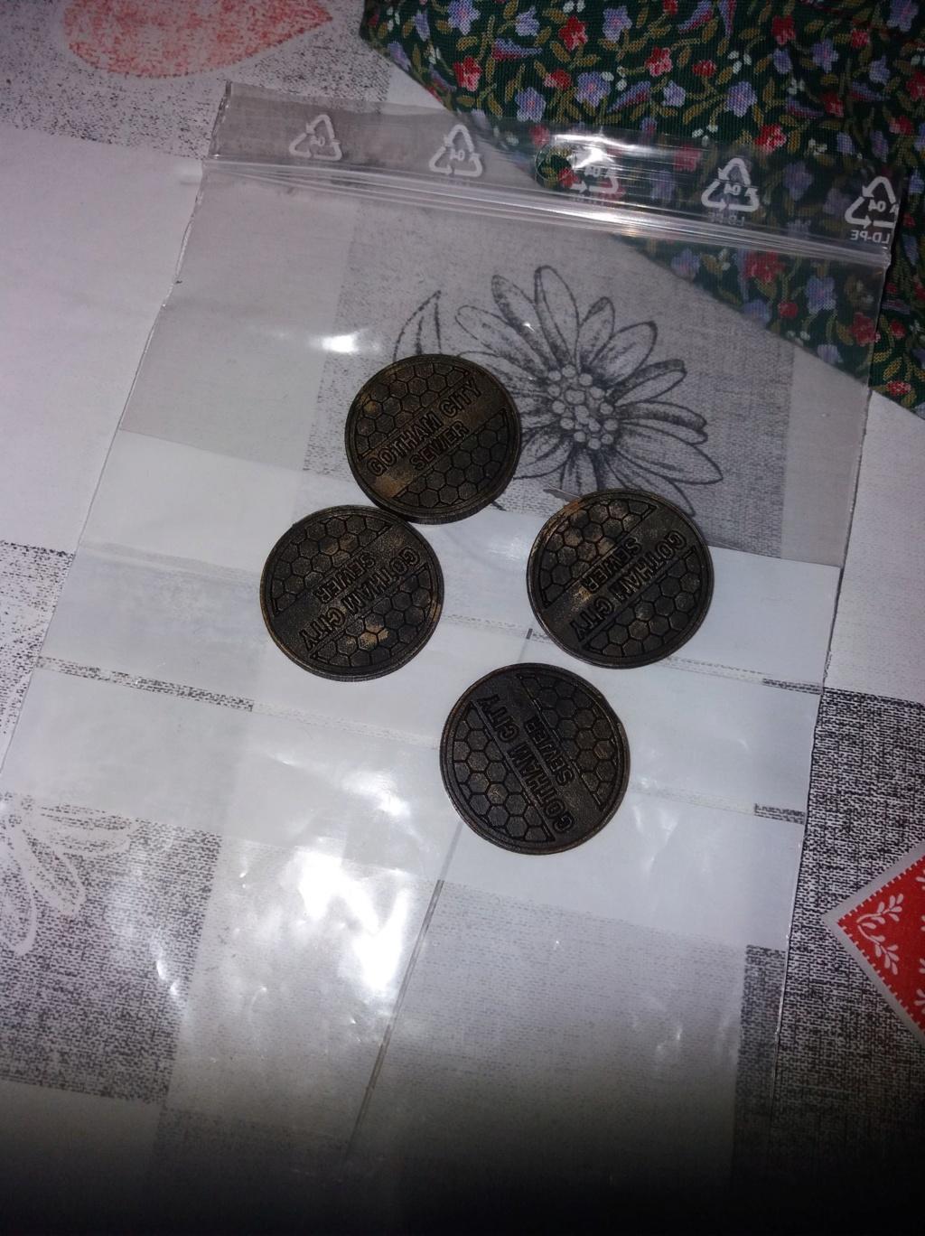 Les débuts de peinture de Nihilus sur Batman Miniature Game Plaque11
