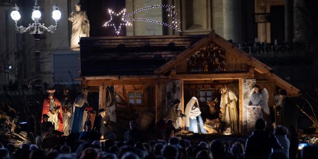 La crèche au Vatican 2019  Img_7815