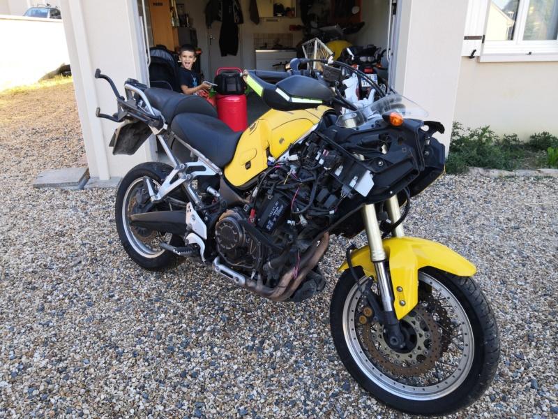 Vends 1200 XTZ 2012 accidentée+divers pièces Img_2011