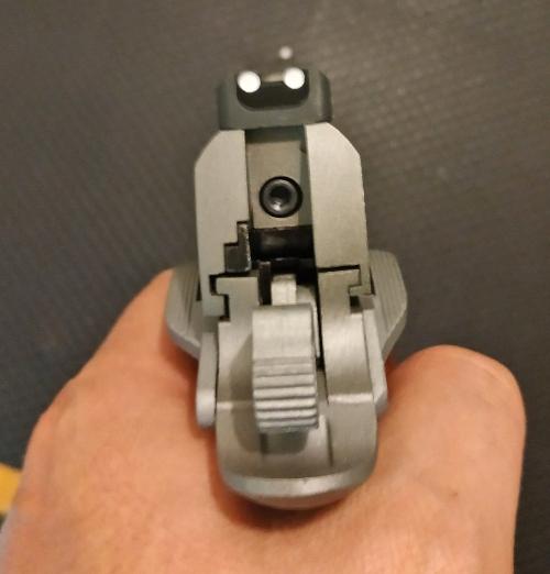 Achat plaisir vraiment satisfaisant. Cybergun Colt 1911 rail gun stainless Colt1910