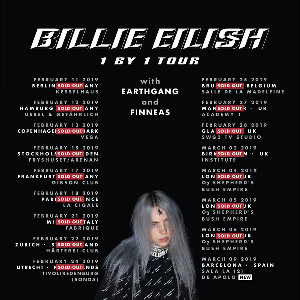 Billie Eilish - Pop Alternativo - Incipiente super estrella Pop - Confirmada en el Mad Cool 45564510