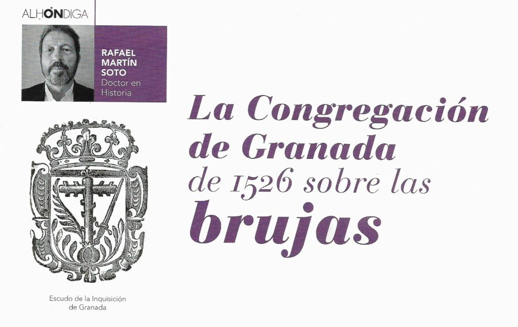 La Congregación de Granada de 1526 sobre las brujas 132m10