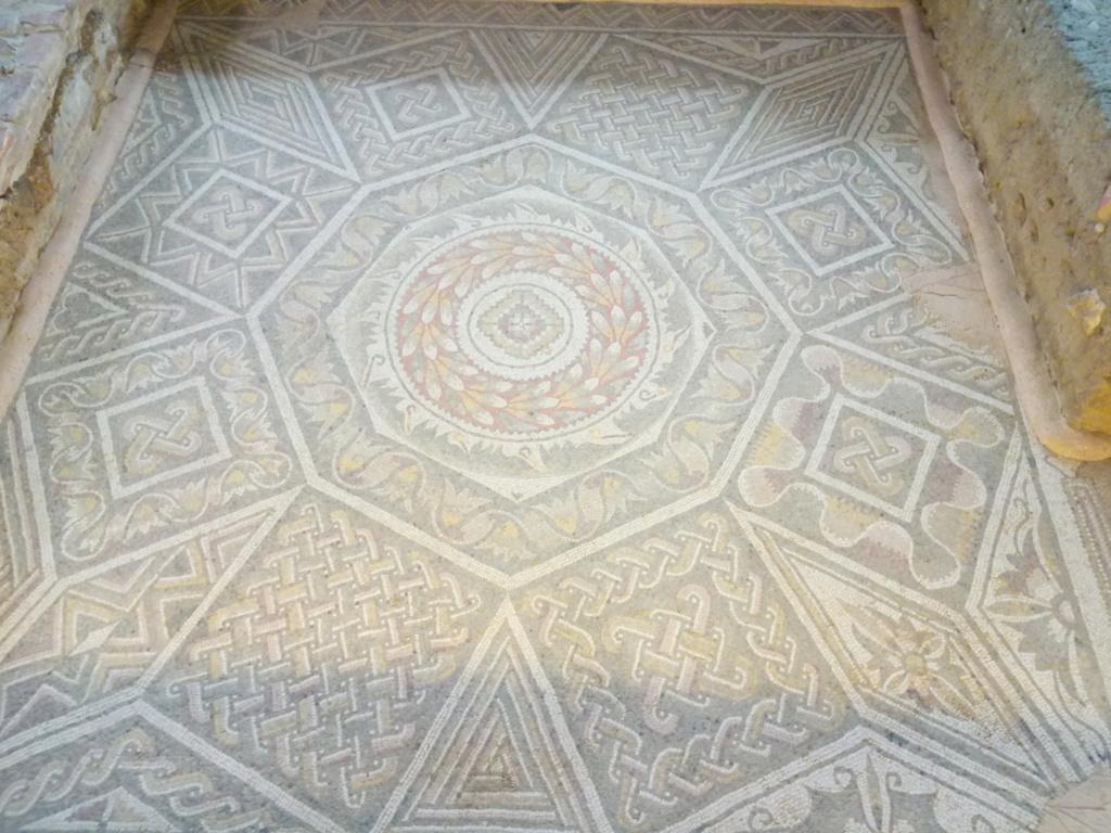 """Un vídeo invita a """"emocionarse"""" y descubrir la villa palaciega de la Olmeda y algunos de los mejores mosaicos del mundo 2017-156"""