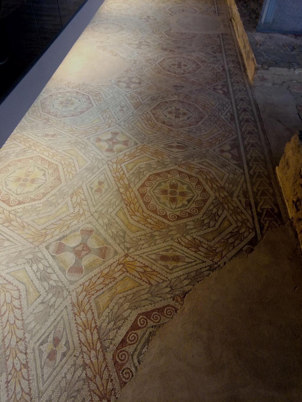 """Un vídeo invita a """"emocionarse"""" y descubrir la villa palaciega de la Olmeda y algunos de los mejores mosaicos del mundo 2017-157"""