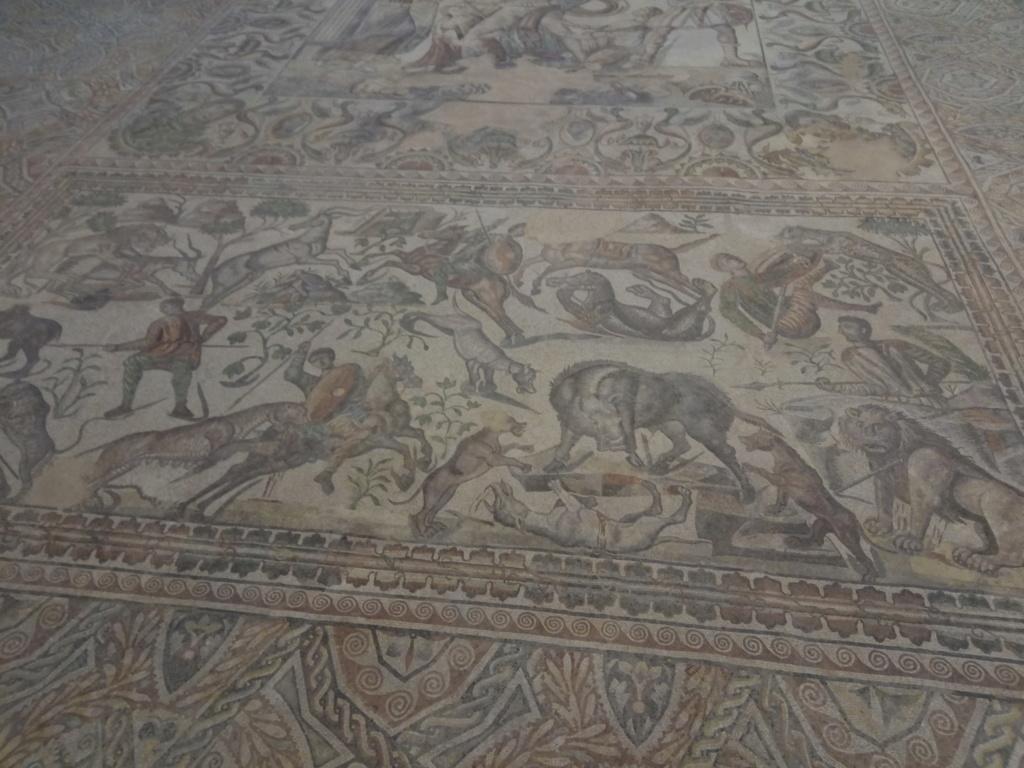 """Un vídeo invita a """"emocionarse"""" y descubrir la villa palaciega de la Olmeda y algunos de los mejores mosaicos del mundo 2017-158"""