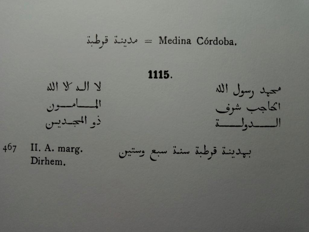 Handús de al Mamun de Toledo, Córdoba, 467 H 2019-011