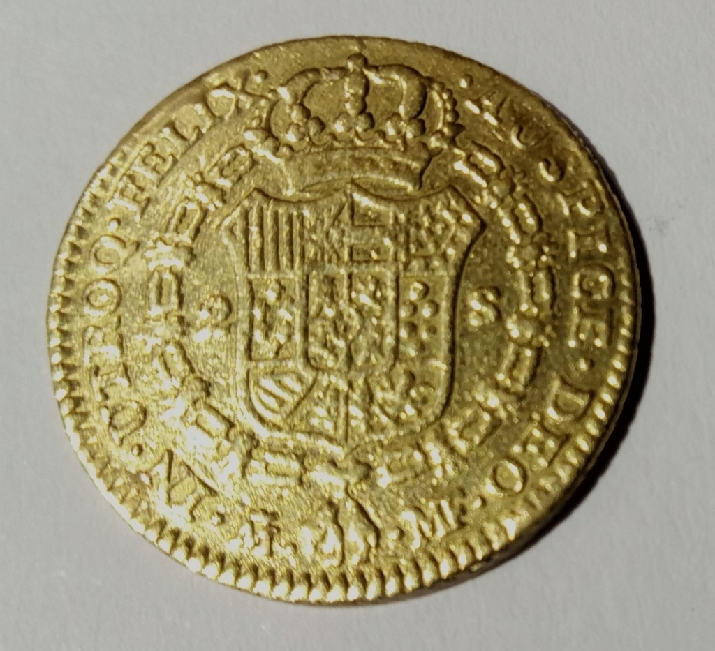 2 escudos 1793. Carlos IV. Madrid 2019-014
