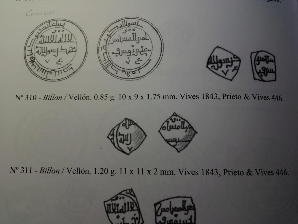 Dírham de vellón, Alí ben Yusuf, Granada 2019-298