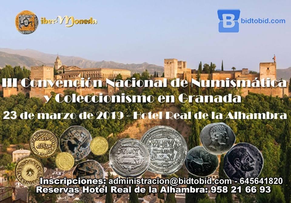 III Convención Nacional de Numismática y Coleccionismo en Granada 54268210