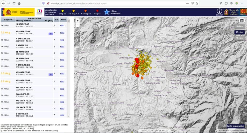 Los terremotos más importantes de la historia de Granada Gvagva10