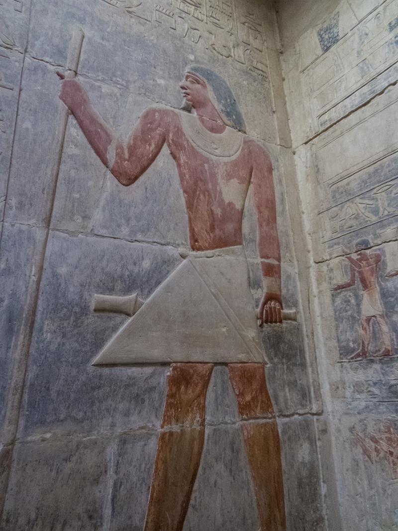 Primeras imágenes del interior de una pirámide clausurada 14 años Interi10