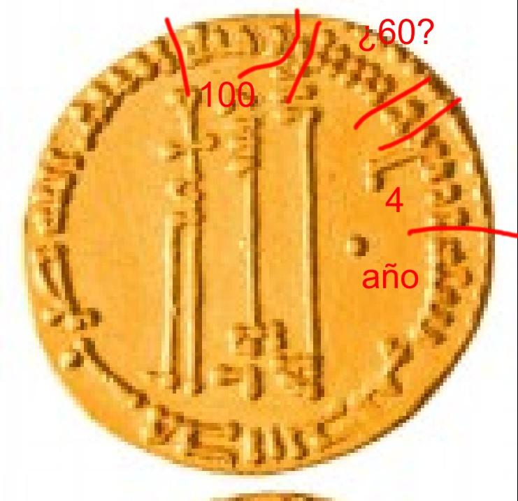 Dinar Abasí del 164 H, Medinat al salam, al-Mahdi Islami10