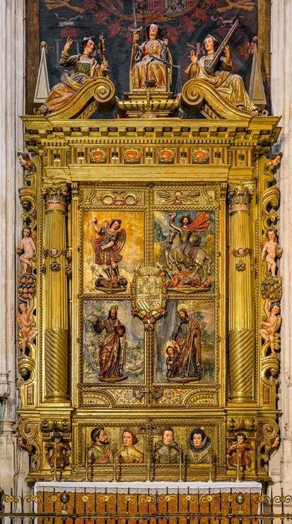 Capilla Real de Granada, tumba de los Reyes Católicos Nuevo-55