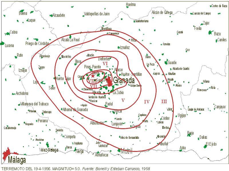 Los terremotos más importantes de la historia de Granada Terrem10