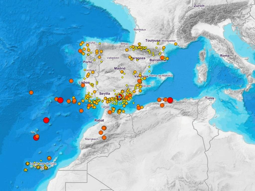 Los terremotos más importantes de la historia de Granada U56eue10