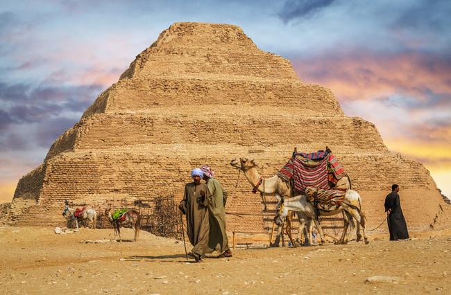 Primeras imágenes del interior de una pirámide clausurada 14 años Zoser-10