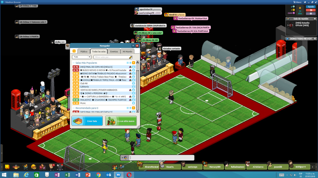[FINAL COPA HES] AC Milán vs Chelsea Sala_l10