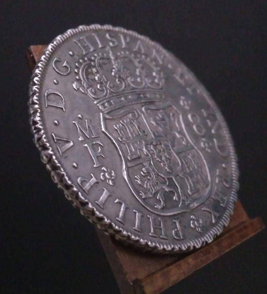 Real de a 8 columnario, 1734, ceca de México. 16116717