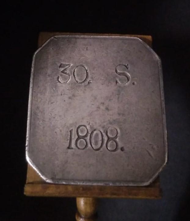 30 Sous octogonales sin FER VII, 1808, Mallorca. 16198810