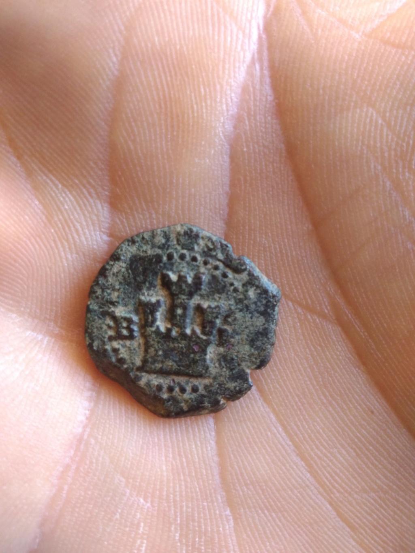 2 maravedís de Felipe II de Burgos Img_2114