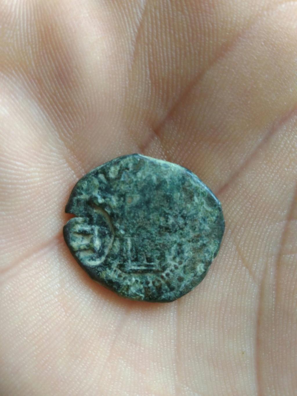2 maravedís de Felipe III, resellados. Img_2151